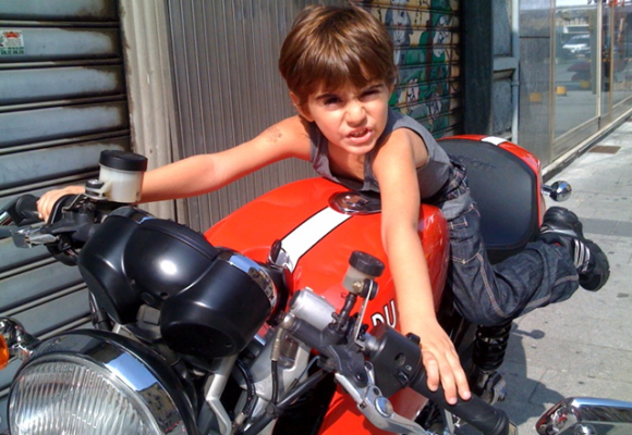 DAD, WILL YOU GIVE ME A MOTORBIKE?